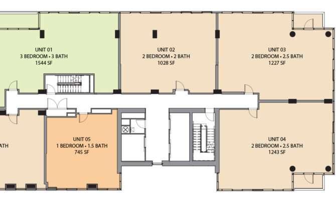 Floorplans One Riverside Condominiums