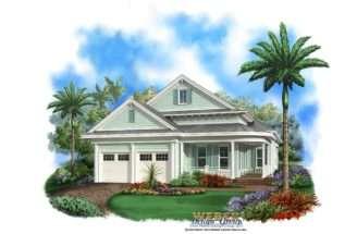 Florida House Plan Coastal Waterfront