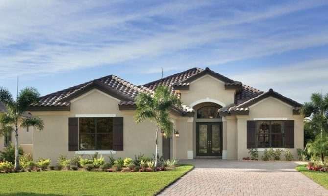Florida Luxury Custom Home Design Exteriors Pinterest
