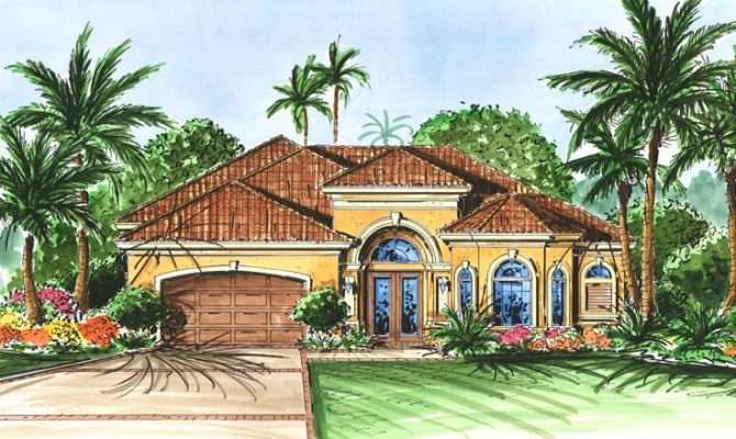 Florida Style House Plan Home