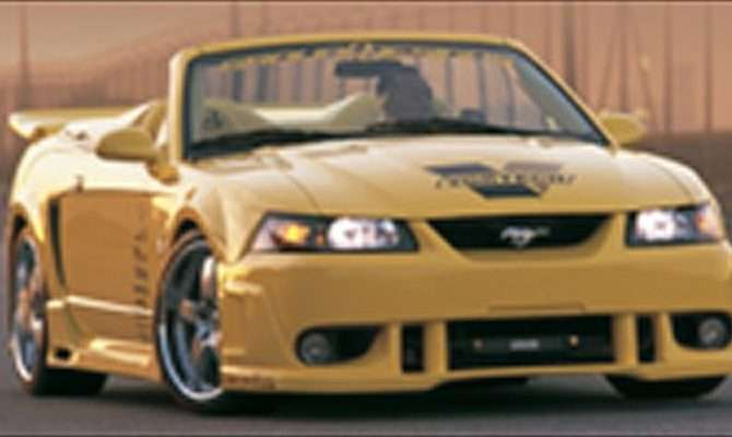 Ford Mustang Cobra Ground Designs Show Car