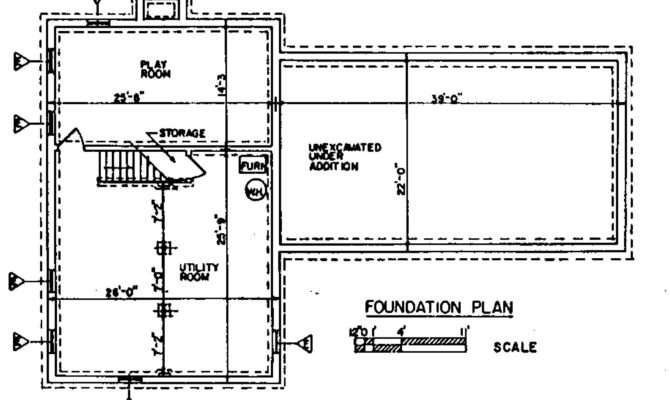Foundation Plan House Types Repair