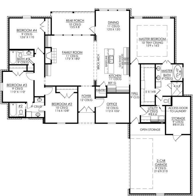 Four Bedroom House Plans Homes Kerala India