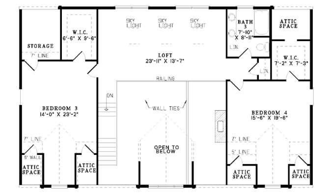 Four Bedroom Log Houses