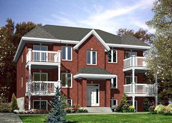 Four Plex Building Plans House Home Designs