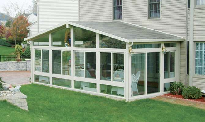 Four Season Sunrooms Frame Home Ideas Collection
