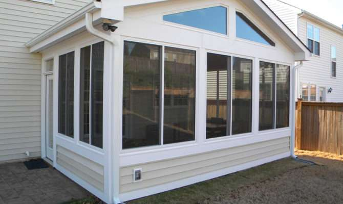 Four Seasons Siding Clearview Sunroom Window