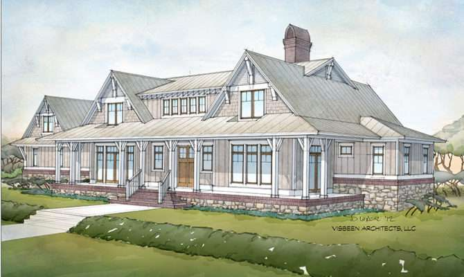 Fourplans Visbeen Architects Looks South Builder