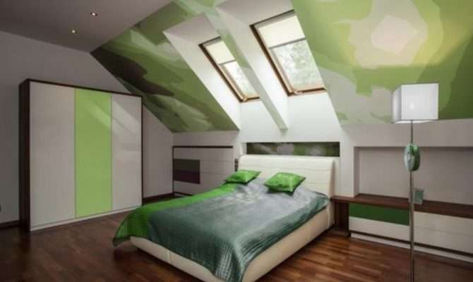 Frame Bedroom Ideas Slanted Ceiling