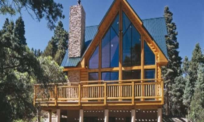 Frame Log Cabin Cool House Plans New