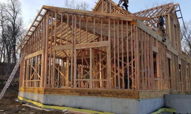 Framing Our Zero House
