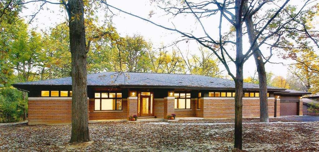 Frank Lloyd Wright Inspired Ranch House Prairiearchitect