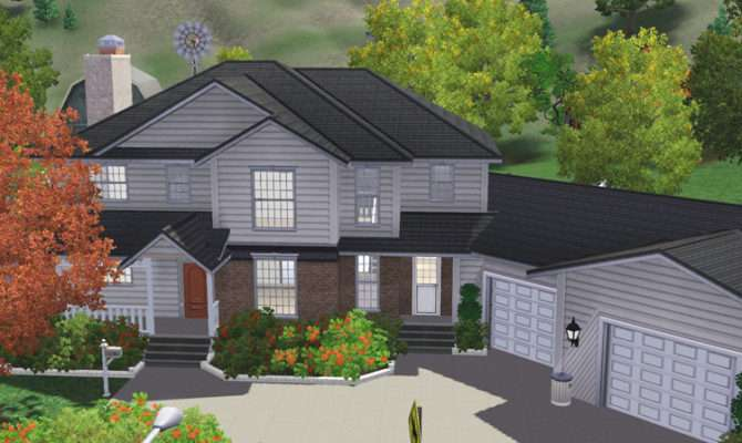 Freebird Sims Lot House
