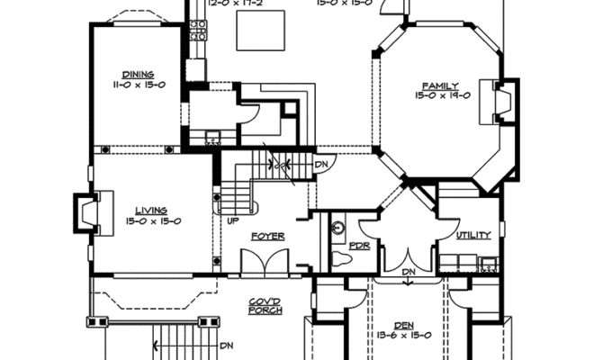 Freestone Multi Level Home Plan House Plans
