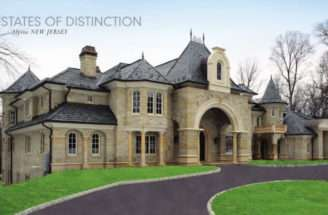 French Chateau Castle Design Plan