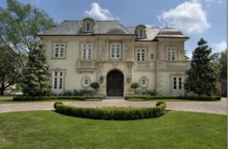 French Chateau Houston Texas Homes European Old World Styles