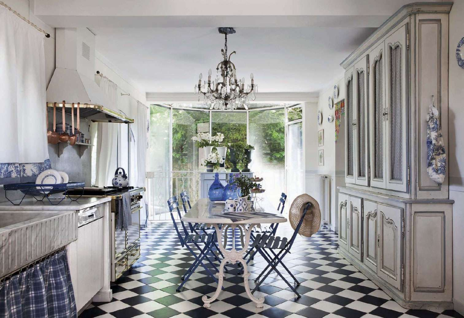 French Cottage Kitchen Country