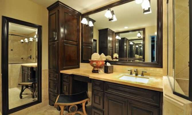 French Country Bathroom Vanity Design