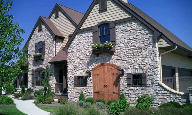 French Country Cottage Alexandra Fine Homes Inc