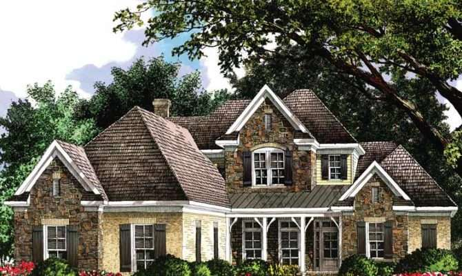 French Country Cottage Architectural Designs