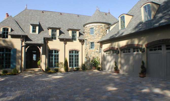 French Country Custom Classic New South Classics Chateau Style