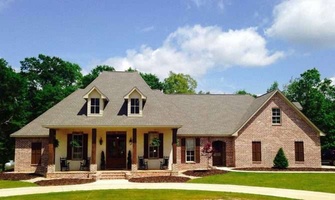 French Country Home Plan Bonus Room