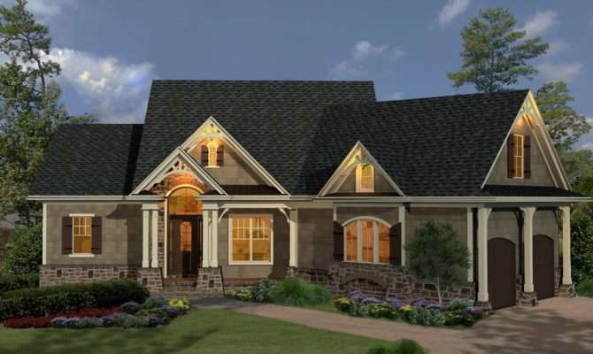 French Country Inspired Homes Rustic Look Half Brick Wall Black