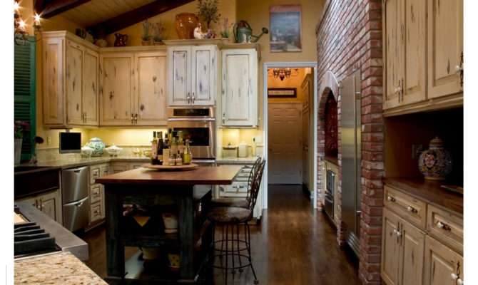 French Country Kitchen Design Can Provide Your Look