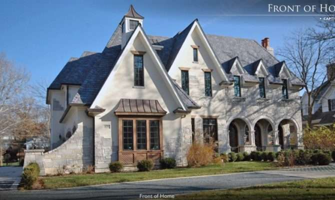 French Country Manor Hinsdale Homes Rich