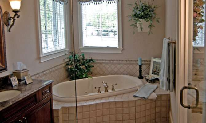 French Country Traditional Bathroom Charlotte
