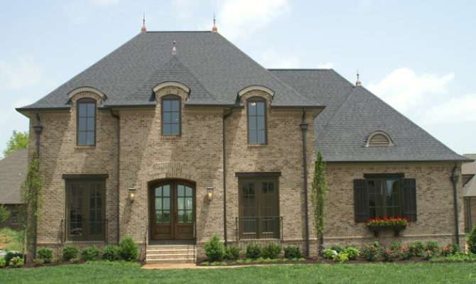 French Eclectic Custom Plan Exterior Other