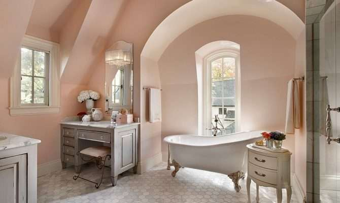 French Style Bathroom Country