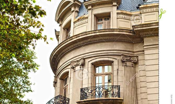 French Style Building Buenos Aires