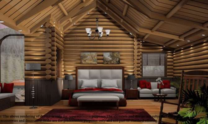 Fresh Bedroom Log Cabin Building Plans