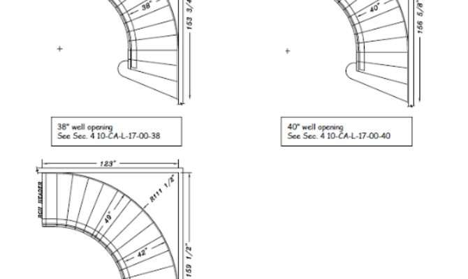 Fresh Curved Staircase Calculator Throughout Modern