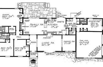 Fresh Floor Plans Ranch Style Homes Popular