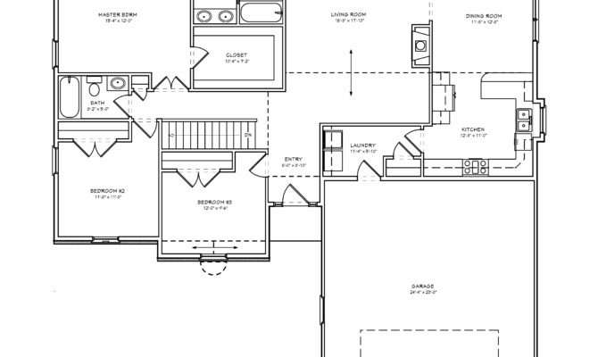 Fresh Simple Floor Plans Bedroom House Level