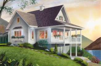 Freshfield Waterfront Home Plan House Plans More