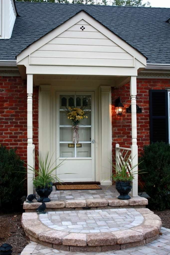 Front Door Porches Designs Canopy Timber