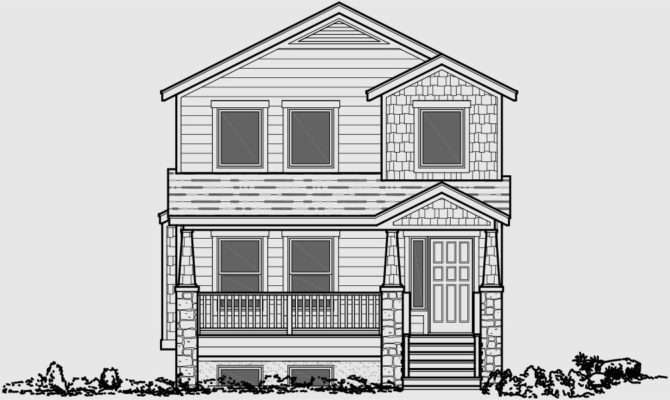 Front Elevation House Plans