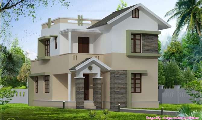 Front Elevation Small Houses Home Design Decor