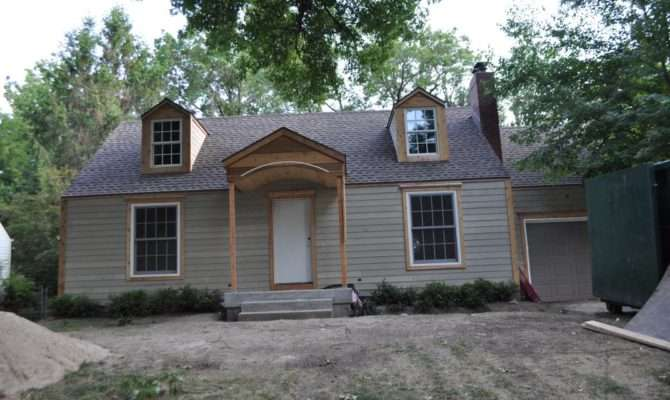 Front House Add Portico
