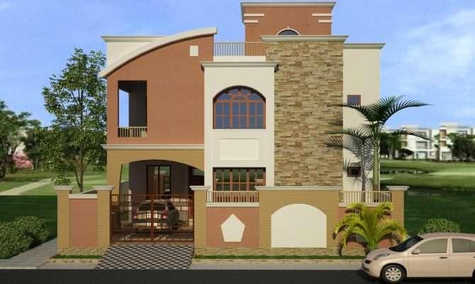 Front House Elevation Native Home Garden Design