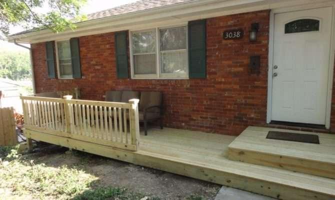 Front Porch Deck Ideas