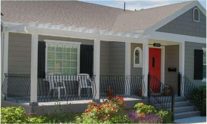 Front Porch Design Idea Bungalow Ideas Cottage