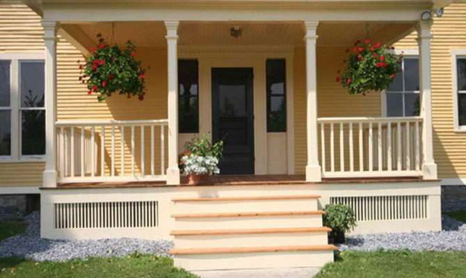 Front Porch Designs Beautiful Ideas Back