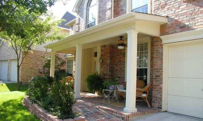 Front Porch Designs Brick Home Design Lover Best