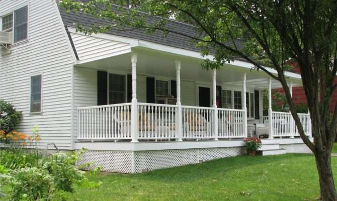Front Porch Designs Ranch Homes Homesfeed