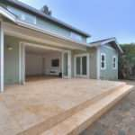Front Porch Home Interior Design Gray Siding Wall