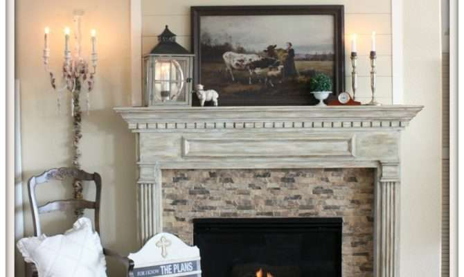 Front Porch Yours French Country Mantel